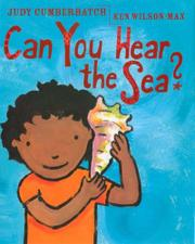 Book Cover for CAN YOU HEAR THE SEA?