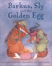 Cover art for BARKUS, SLY AND THE GOLDEN EGG