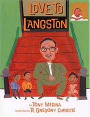 Book Cover for LOVE TO LANGSTON