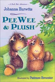 Cover art for PEEWEE AND PLUSH