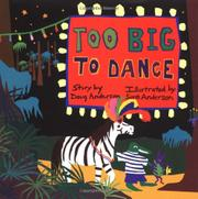 Book Cover for TOO BIG TO DANCE
