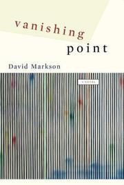 Cover art for VANISHING POINT