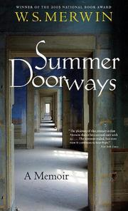 Book Cover for SUMMER DOORWAYS