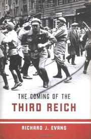 Cover art for THE COMING OF THE THIRD REICH