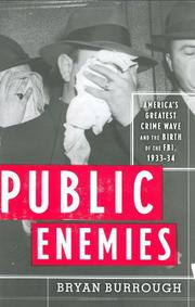 Book Cover for PUBLIC ENEMIES