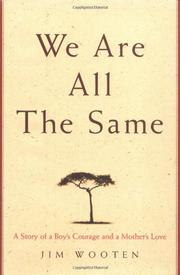 Cover art for WE ARE ALL THE SAME