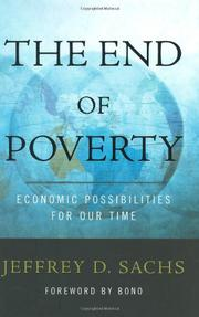 Cover art for THE END OF POVERTY