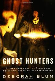 Cover art for GHOST HUNTERS