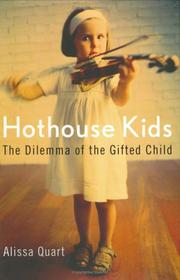 Cover art for HOTHOUSE KIDS
