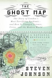 Cover art for THE GHOST MAP
