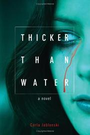 Cover art for THICKER THAN WATER