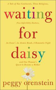 Cover art for WAITING FOR DAISY