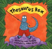 Cover art for THESAURUS REX
