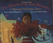 Cover art for THE MIRACLE OF THE FIRST POINSETTIA