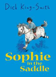 Book Cover for SOPHIE IN THE SADDLE