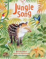 Cover art for JUNGLE SONG