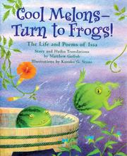 Book Cover for COOL MELONS--TURN TO FROGS!