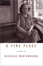 Cover art for A FINE PLACE