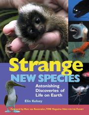 Cover art for STRANGE NEW SPECIES