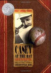 Cover art for CASEY AT THE BAT