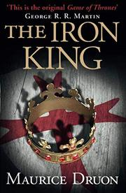 Cover art for THE IRON KING