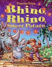 Book Cover for RHINO, RHINO, SWEET POTATO