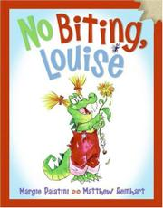 Cover art for NO BITING LOUISE