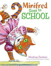 Cover art for MINIFRED GOES TO SCHOOL