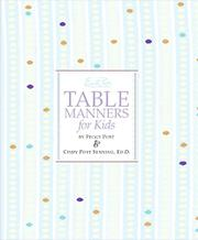 Cover art for EMILY POST'S TABLE MANNERS FOR KIDS