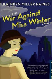 Cover art for THE WAR AGAINST MISS WINTER
