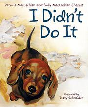Book Cover for I DIDN'T DO IT