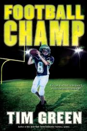 Book Cover for FOOTBALL CHAMP