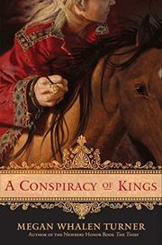 Cover art for A CONSPIRACY OF KINGS