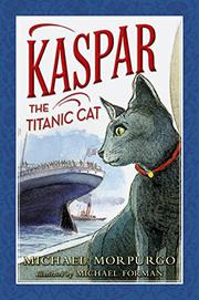 Book Cover for KASPAR THE TITANIC CAT