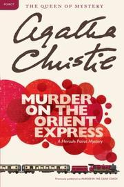 Cover art for MURDER ON THE ORIENT EXPRESS