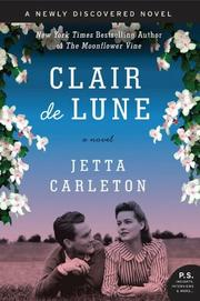 Book Cover for CLAIR DE LUNE