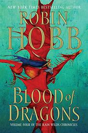 Cover art for BLOOD OF DRAGONS