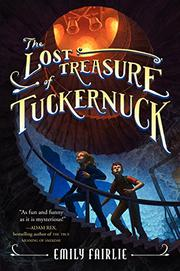 Cover art for THE LOST TREASURE OF TUCKERNUCK