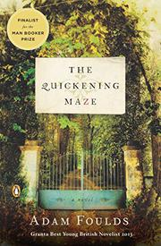 Cover art for THE QUICKENING MAZE