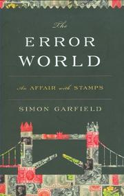 Book Cover for THE ERROR WORLD
