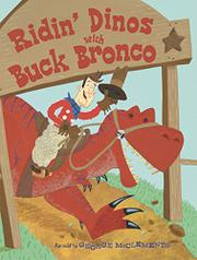 Cover art for RIDIN' DINOS WITH BUCK BRONCO