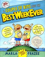 Book Cover for A COUPLE OF BOYS HAVE THE BEST WEEK EVER
