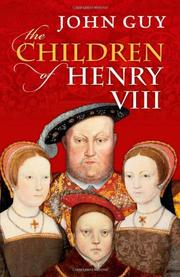 Cover art for THE CHILDREN OF HENRY VIII