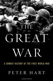 Cover art for THE GREAT WAR