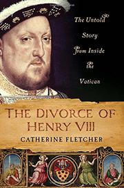 Cover art for THE DIVORCE OF HENRY VIII