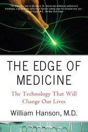 Cover art for THE EDGE OF MEDICINE