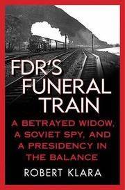 Cover art for FDR'S FUNERAL TRAIN