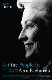 Book Cover for LET THE PEOPLE IN