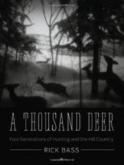 Cover art for A THOUSAND DEER