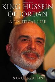 Cover art for KING HUSSEIN OF JORDAN